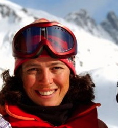 My Ski Instructor, Anne Bosvieux